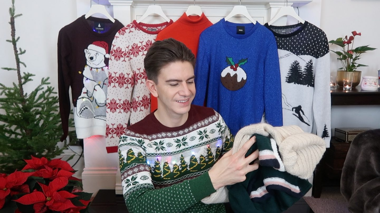 MEN'S CHRISTMAS JUMPERS 2017 | MY CHRISTMAS JUMPER DAY PICKS