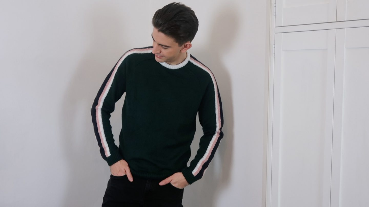 mens stripe jumper asos