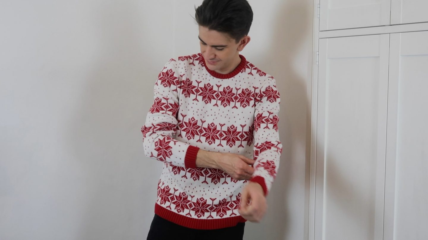 mens Christmas jumper asos