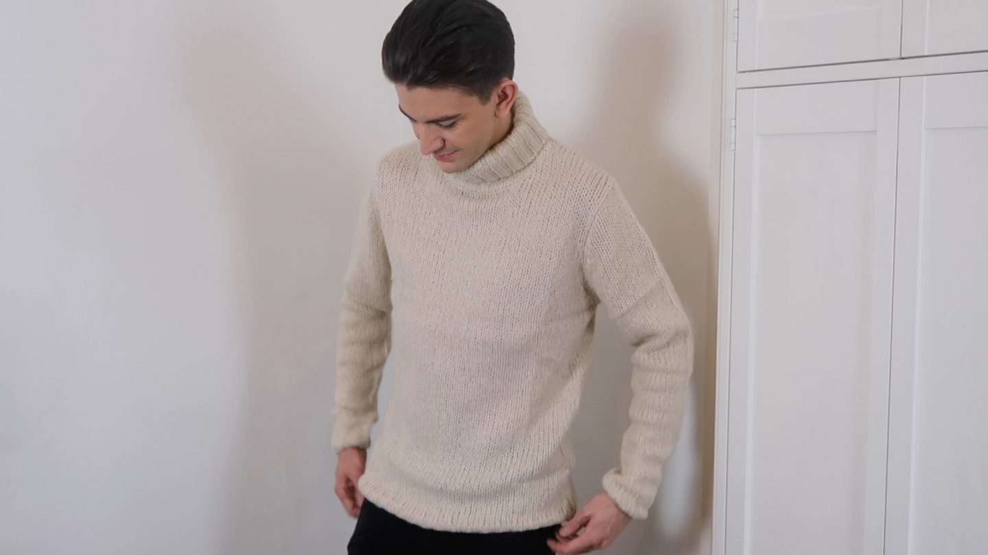 mens roll neck jumper river island