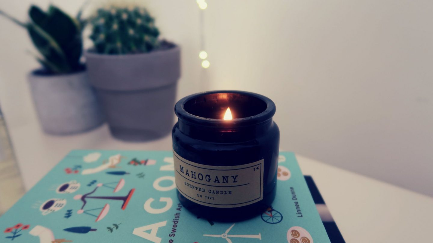 Mahogany Candle HM home