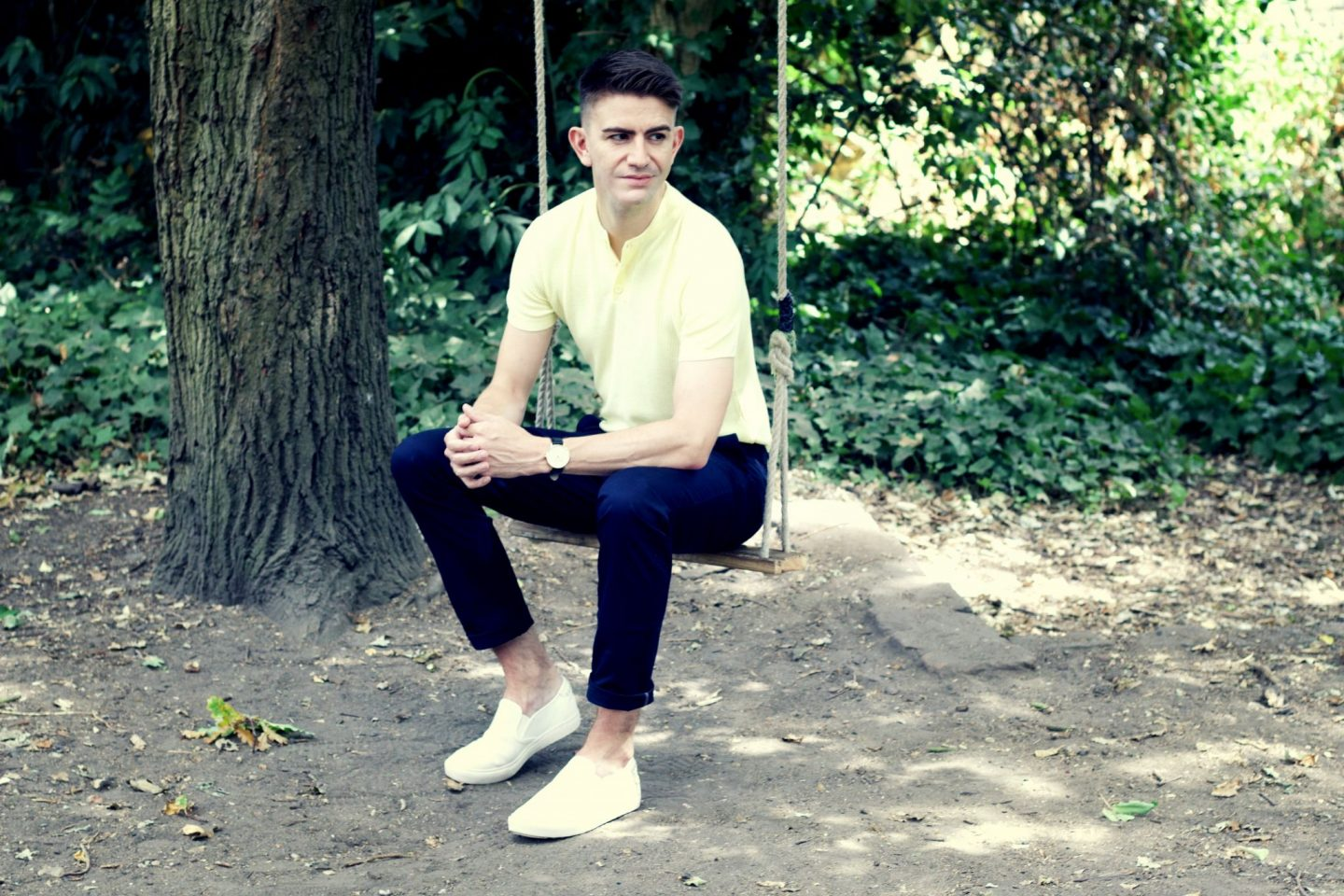 mens fashion blogger london wearing Zara coach spoke london