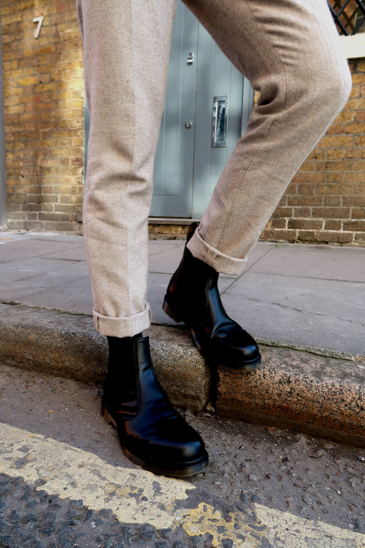 Dr Martens mens Chelsea boots black