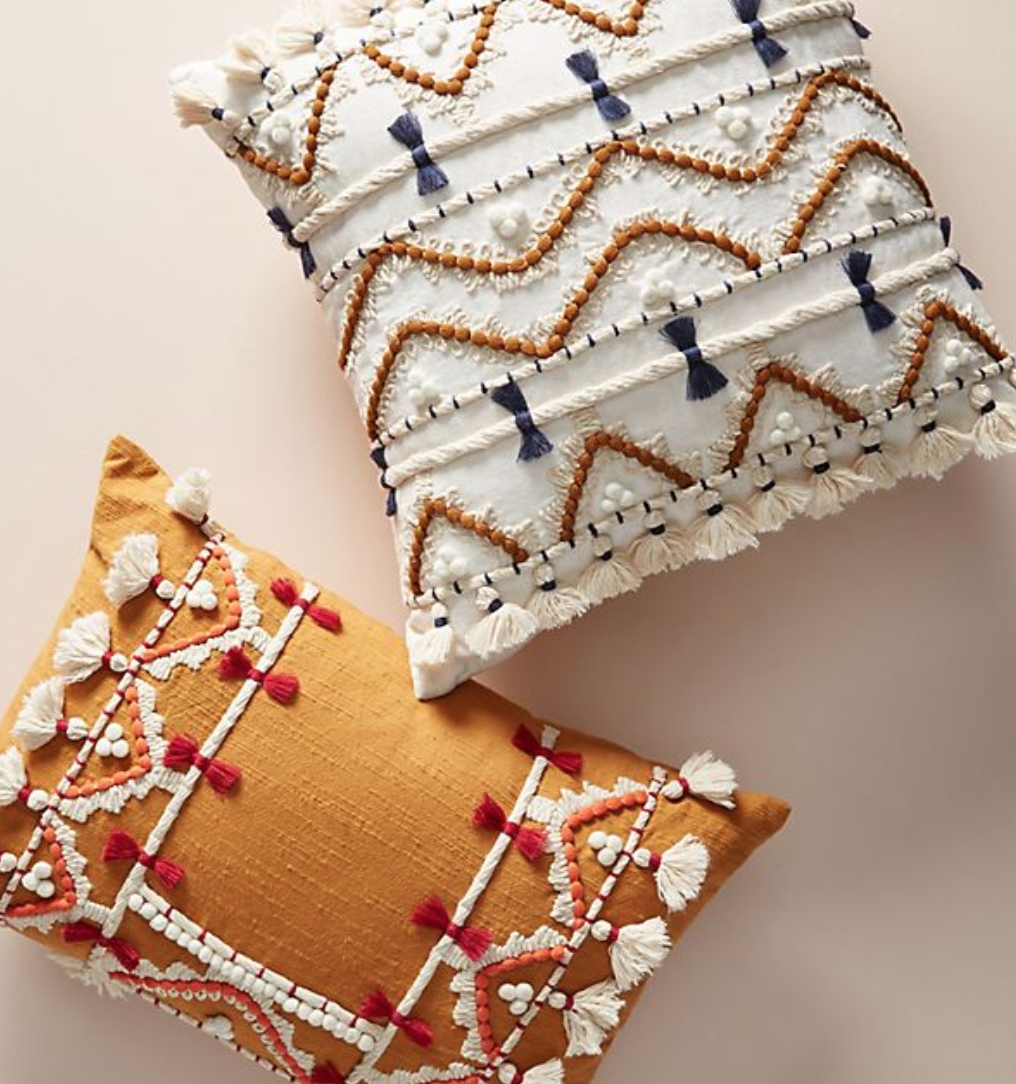 Anthropologie Home Cushions